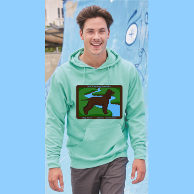 Unisex Hooded Sweatshirt with Large River Logo