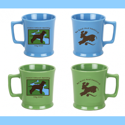 Mug with River Logo AND Be Bold and Dashing Logo