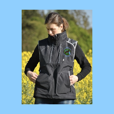 Hurtta Dog Trainer's Vest Embroidered with Small River Logo RETAIL $132