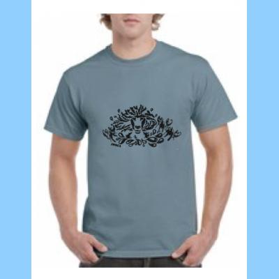 Unisex Crewneck T-Shirt with Lobstah Splash Logo