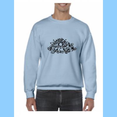 Unisex Crewneck Sweatshirt with Lobstah Splash Logo