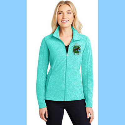 Ladies Full-Zip Microfleece Embroidered with Small River Logo