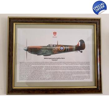 Spitfire MKIIB P8331 Sumatra Print