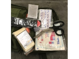 Motorcycle First aid Kit - Soft case