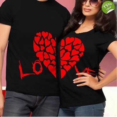 LOVE Print Cotton Quality T-shirts