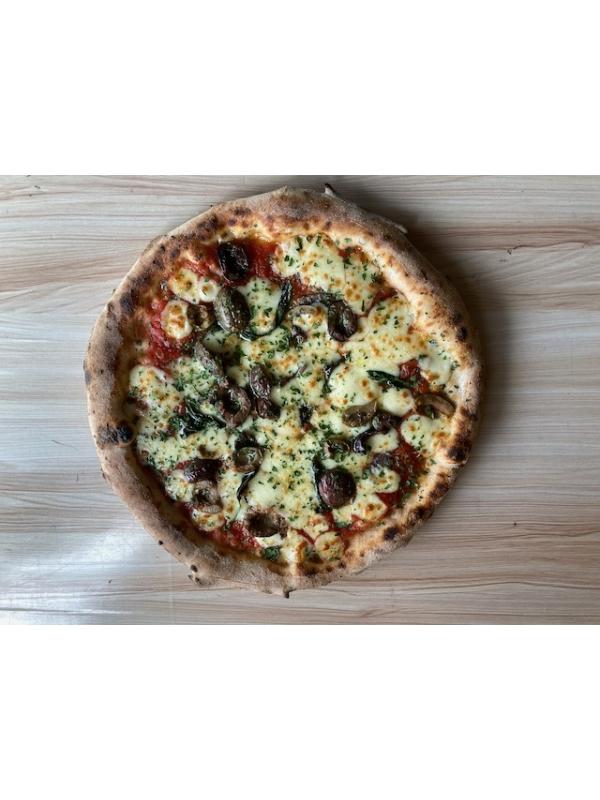 Puttanesca Pizza - Heat @ Home