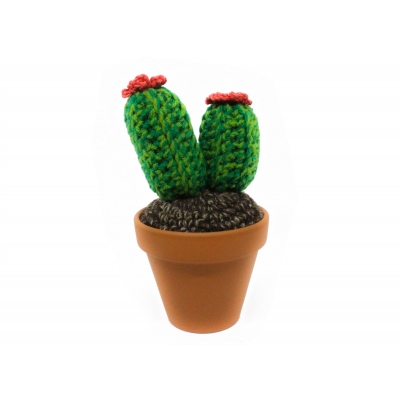 Crochet Cactus Medium