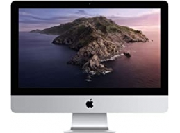 New Apple iMac 21.5-inch Retina 4K Display, 3.0 GHz 6-core 8th-generation Intel Core i5 Processor, 1TB - Silver