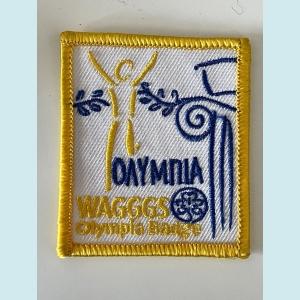 WAGGGS Olympia Badge