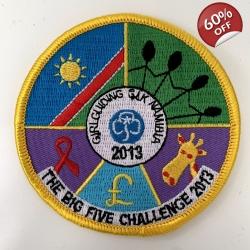 The Big FIVE Challenge Badge
