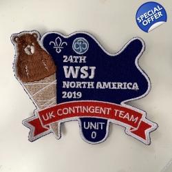 24th WSJ Unit 0 UK Badge