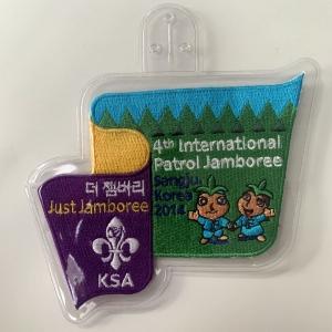 Korea patrol jamboree badge