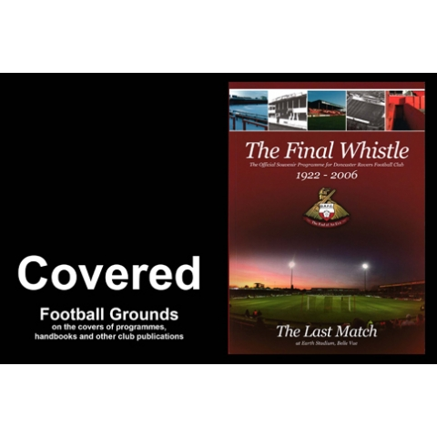 Covered - football grounds on programme covers