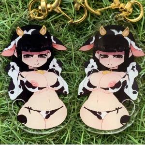 Cow girl - Keychain