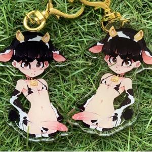 Cow guy - Keychain