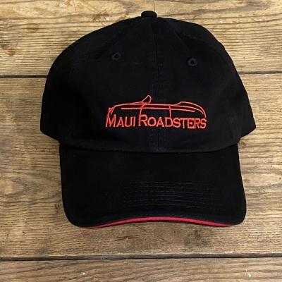 Low Profile Cap - Logo - Black/Red