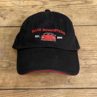 Low Profile Cap - Speedster - Black/Red