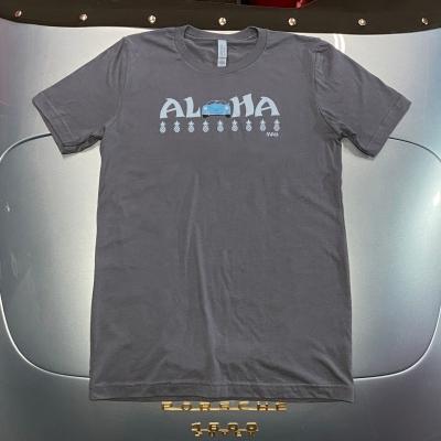Unisex Tee - Aloha - Asphalt/Blue Speedster