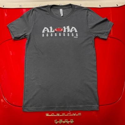 Unisex Tee - Aloha - Asphalt/Red Speedster