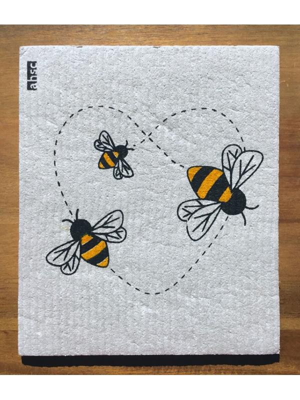 Bees Eco Wishcloth