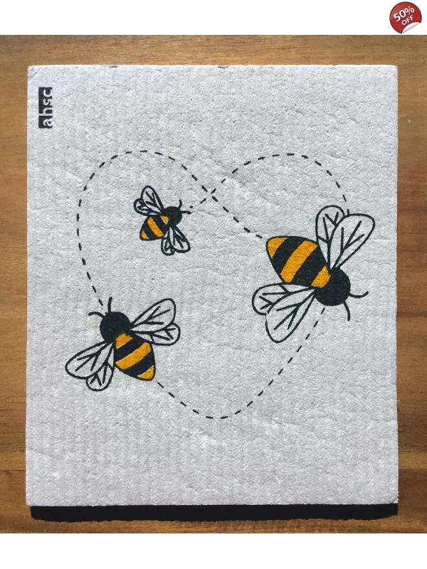 Love Bees Eco Dishcloth