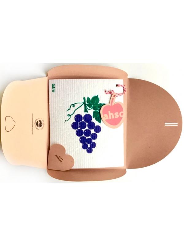 Grapes Eco Wishcloth