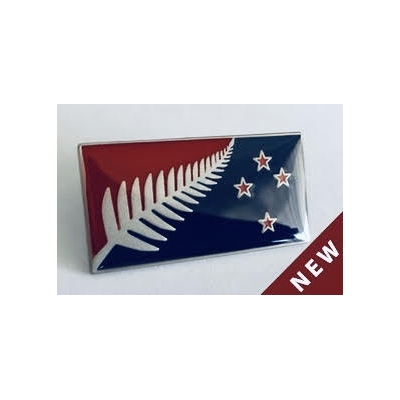 m | ORIGINAL SILVER FERN PIN