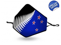 F | SILVER FERN FLAG MASK