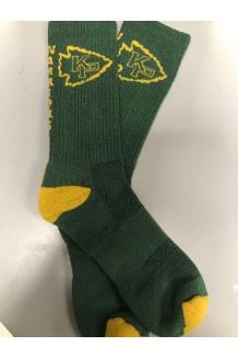 KP Tri-Blend Yellow and Green Socks