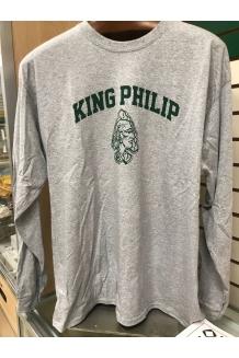 KP Gray Long Sleeve Shirt
