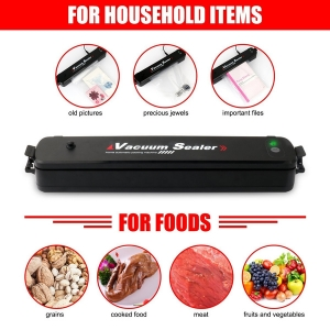 Vacuum Sealer Machine , Automatic Vacuum Sealer Portable Compact Vacuum Sealing System for Vacuum and Seal , Cooking Mufti-function Including 15PCS