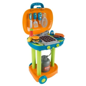Hey Play 80-PP-TK081711 BBQ Grill Toy Set