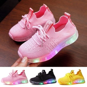Kids Shoes Light Up Shoes for Kids Children Boys&Girls' Glowing Sneakers Flash Shoes