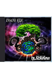 Insane E - The Art of Blaowww CD